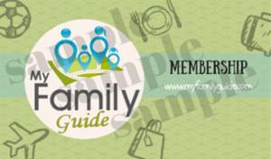 my family guide membership card