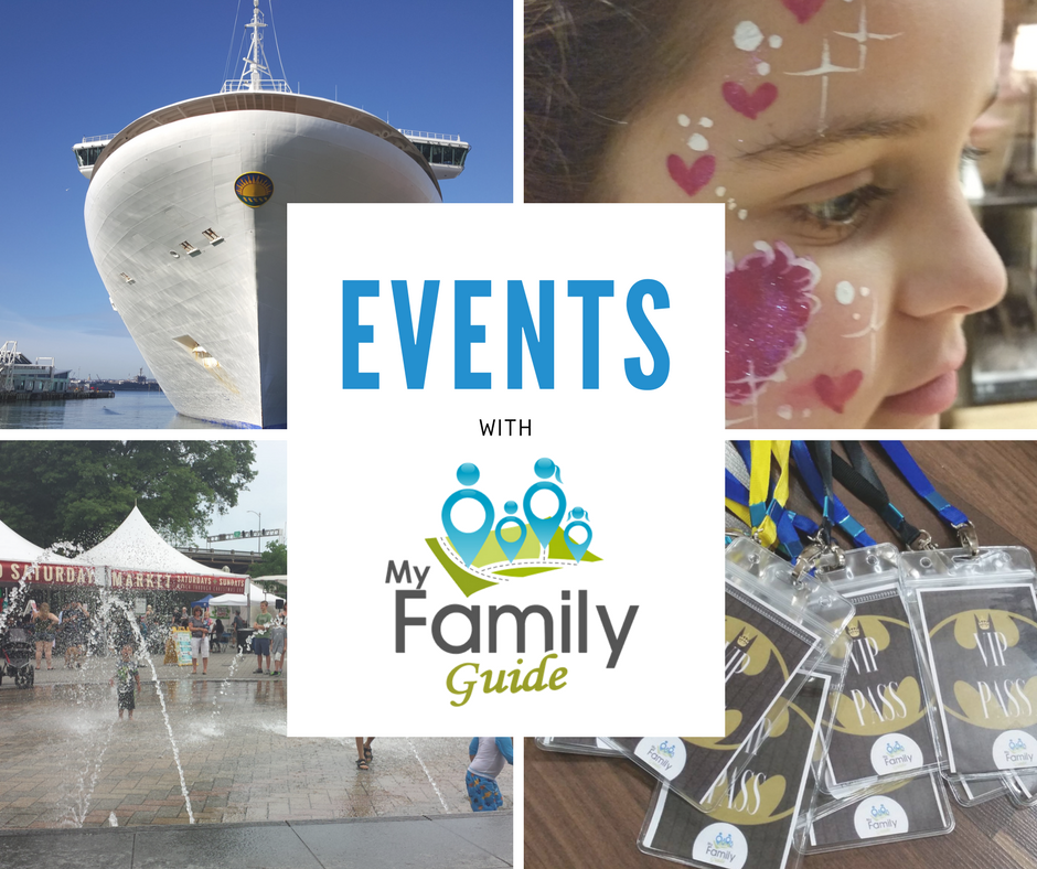 events with my family guide