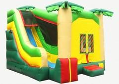 Inflatable-Jungle-Combo-Bounce-House