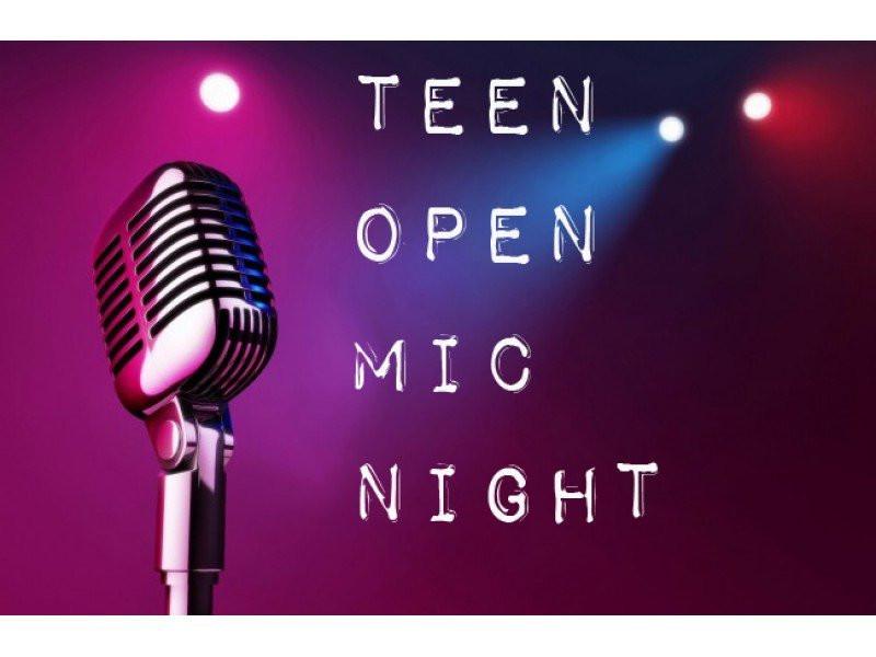 teen-open-mic